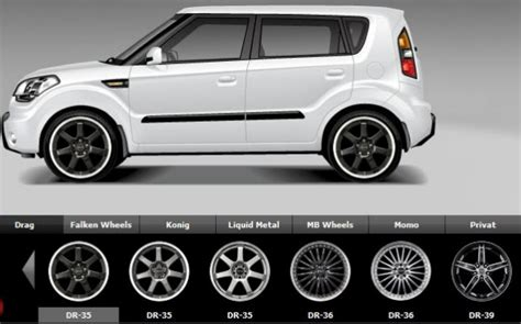 2013 kia wheel size 2011 kia soul tire size tire reviews