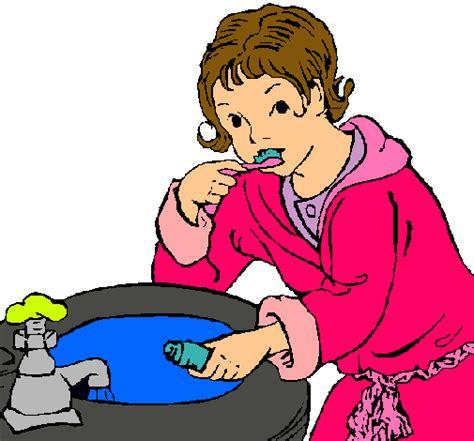 dibujo de ni a cepill ndose los dientes para colorear dibujo ni 241 a cepillandose los dientes imagui