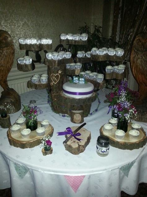 rustic cake stand wedding cake stand ideas table