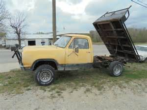 Dodge Dump Truck For Sale 1978 Dodge 4x4 Flatbed Dump Truck For Sale Photos