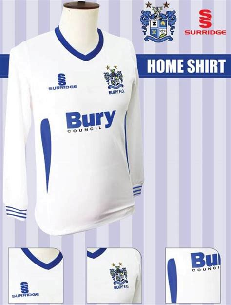 marseille kits 2013 2014 home away shirts official new bury kit 2013 14 bury fc surridge sports shirts 13 14