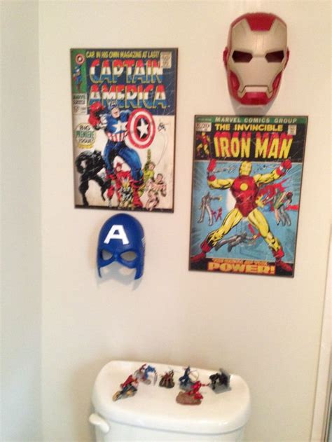 superhero bathroom ideas boys bathroom super hero re decor my bathroom pinterest