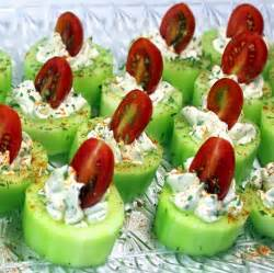Best Potluck Main Dish Recipes - 52 ways to cook cucumber bites with herb cream cheese and cherry tomatoes 52 church potluck