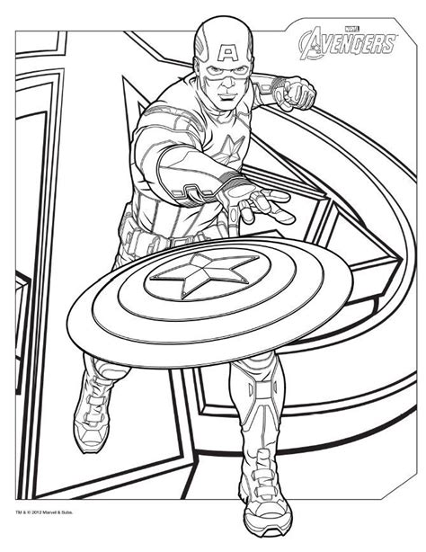 marvel coloring books coloring pages here captainamerica