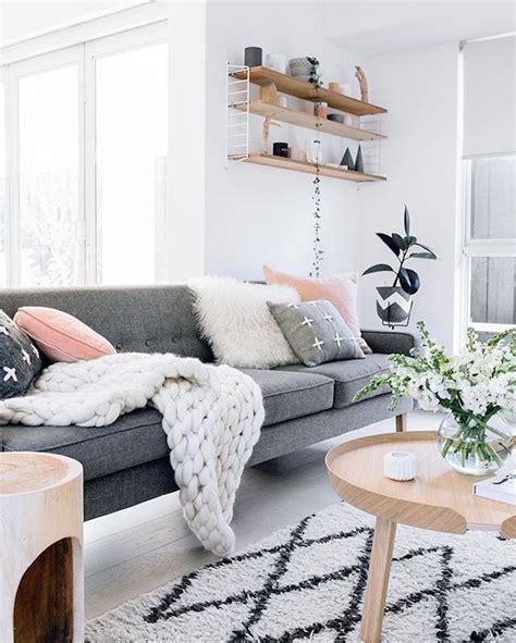 idees salon nordique minimalisme  chaleur