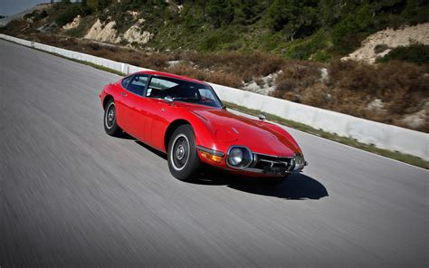 1968 Toyota 2000gt 1968 Toyota 2000gt Front Three Quarters In Motion 2 Photo 48