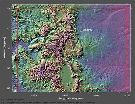 colorado mountains map my climatology for denver colorado meteorology 410