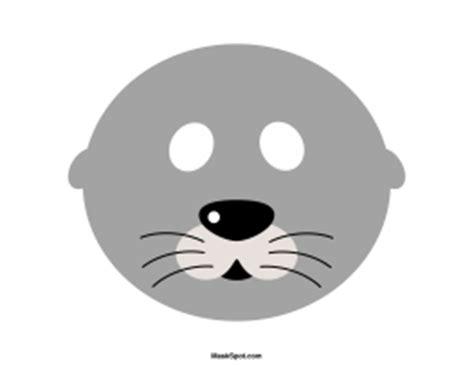 printable seal mask template printable seal mask