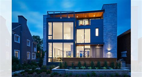 terrace on the canal ottawa canal terrace house by christopher simmonds architect in