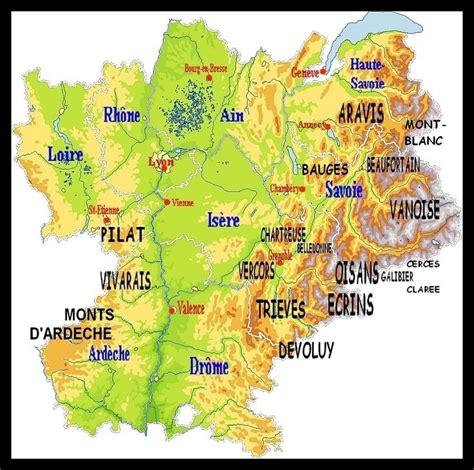 Bon Coin Drome Ameublement #15: Rhône Alpes carte des