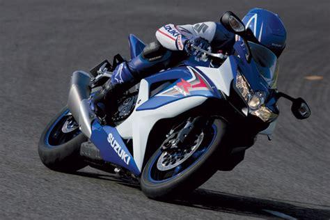 Schnellste 600er Motorrad by Suzuki Gsx R 750 2008 Modellnews