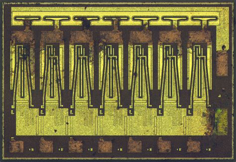 what s inside an integrated circuit what s inside an array of transistors make