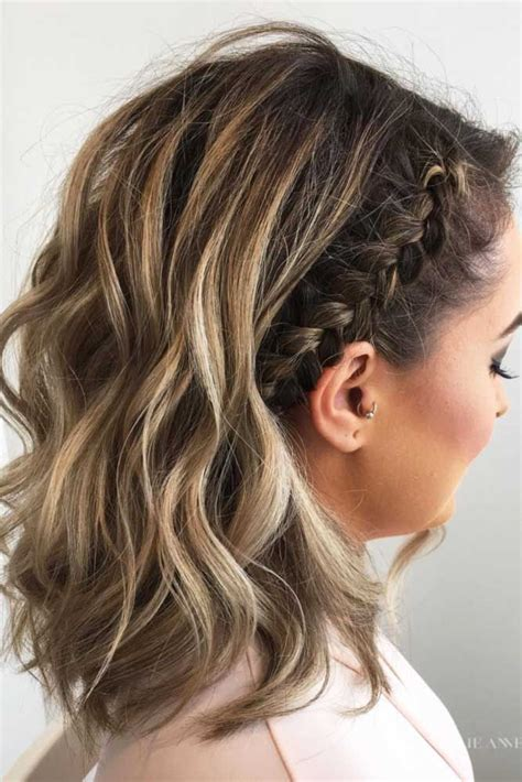 braided hairstyles in short hair 30 cute braided hairstyles for short hair braid