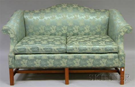 damask settee western carolina furniture co chippendale style damask