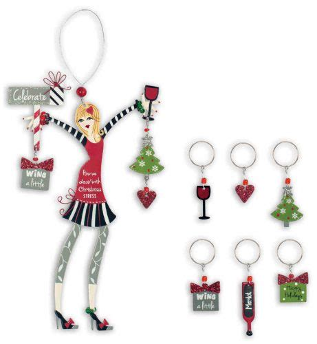 wine ornaments wine martini ornaments
