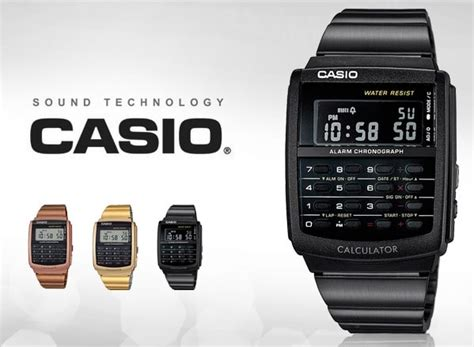 Orologio Casio Calcolatrice by Casio Collection Ca 506b 1aef Orologio Uomo Clessidra