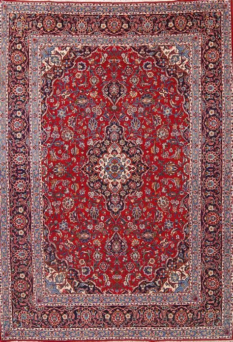 8x11 Area Rugs by 8x11 Kashan Mashad Area Rug