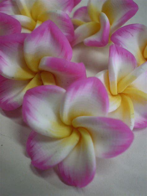 fiori hawaiani 10 perline fiori hawaiani materiali bigiotteria di