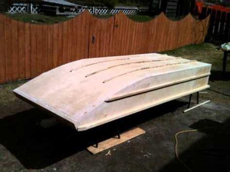wooden jon boat home made wooden jon boat youtube