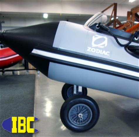 zodiac boat with wheels zodiac sport boat launch wheels
