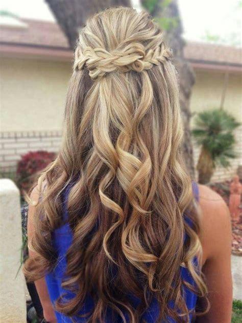 braided half up waterfall kids hair ideas pinterest 12 incre 237 bles peinados para graduaci 243 n 1001 consejos