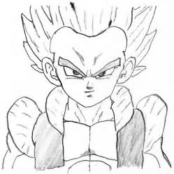 7 pics super saiyan gotenks coloring pages dragon ball coloring