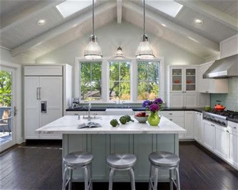 kitchen charming vaulted ceiling ideas for modern home home design kitchen modern and home on pinterest