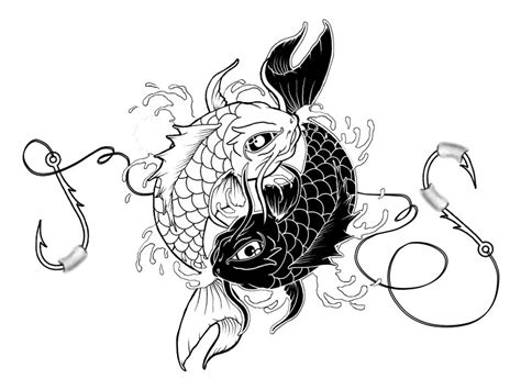 yin yang fish tattoos designs yin yang koi by jitsiereveld on deviantart