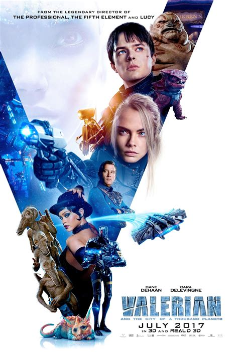 valerian and the city of a thousand planets valerian and the city of a thousand planets poster seems