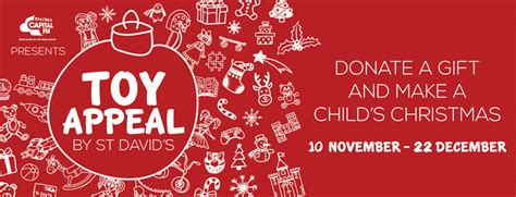 st david s toy appeal 2016 donate a gift this christmas