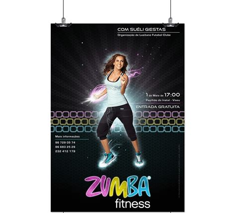 design zumba poster zumba 174 fitness poster collection vol ii on behance
