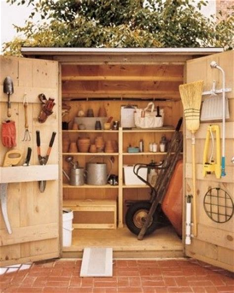 How To Organize A Garden Shed by Organized Shed Organize