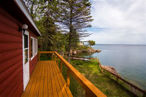 Shore Lake Superior Cabin Rentals by Cabin 2 Breezy Point Cabins On Lake Superior