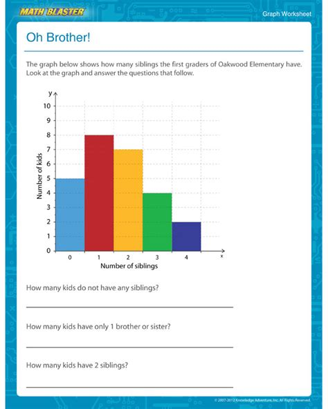 printable graphs for 1st grade oh brother view printable 1st grade graph worksheet