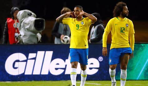 jogo da alemanha brasil derrota alemanha por 1 a 0 gol de gabriel jesus