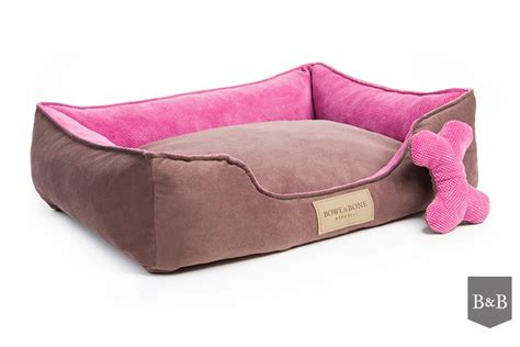pink dog beds bowl and bone classic dog bed pink luxury dog beds