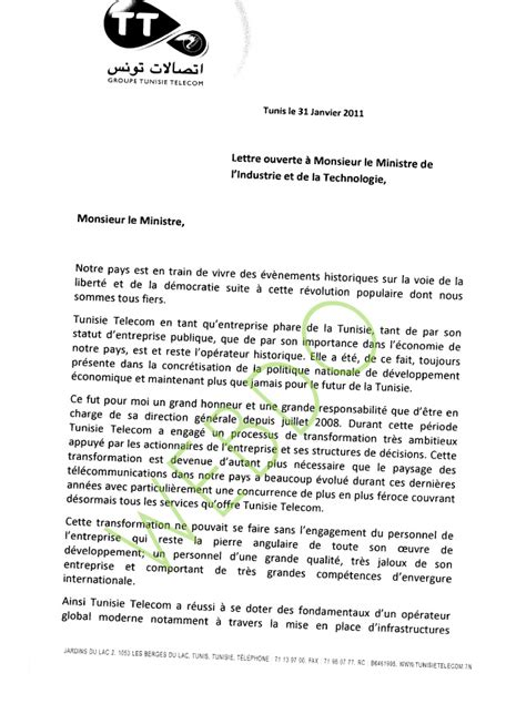 Exemple De Lettre De Démission Tunisie Lettre De D 233 Mission Tunisie Application Letter