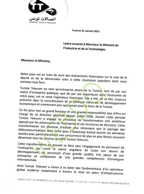 Présentation Lettre Copie à Lettre De D 233 Mission Tunisie Application Letter