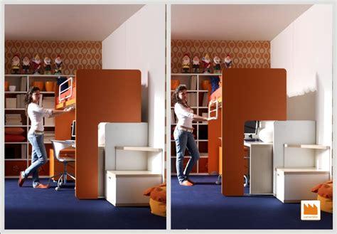 letto a con scrivania sotto letto a scorrevole geniale da 248 con scrivania