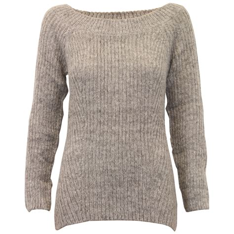 boat neck ladies jumpers ladies boat neck jumper threadbare womens cable knitted