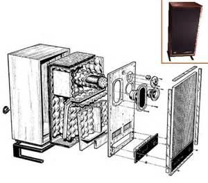 Transmission line maze speaker empty full range diy4 6 5 wood speaker