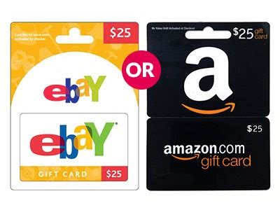 Ebay Amazon Gift Card - www partnerwithselenabrown com enter partnerwithselenabrown com 25 ebay or amazon