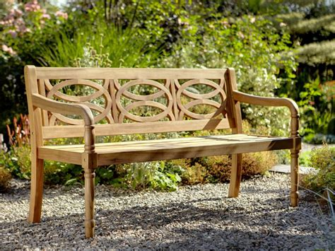 3 chair bench cleobury 3 seater fsc garden bench from hartman 163 182
