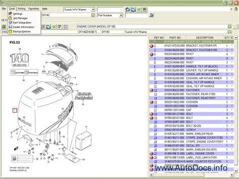 Suzuki Spare Parts Catalogue Suzuki Marine Outboard 2008 Parts Catalog Order