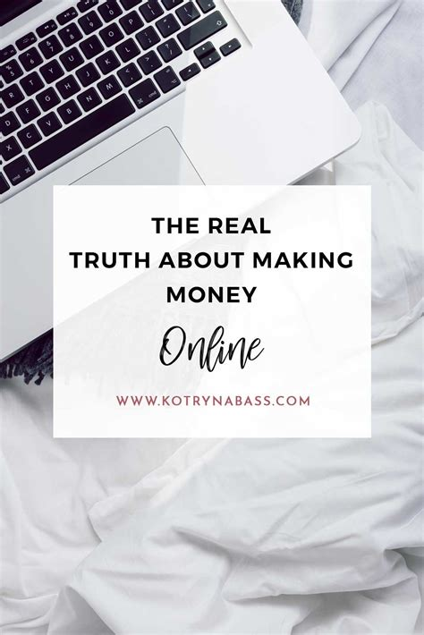 The Truth About Making Money Online - increase your blog traffic fast using these five strategies kotryna bass