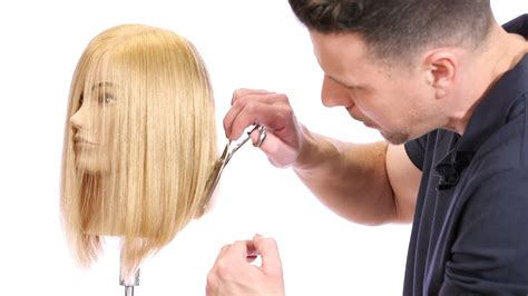 gents haircut tutorial haircut tutorial how to cut a bob with a razor lob