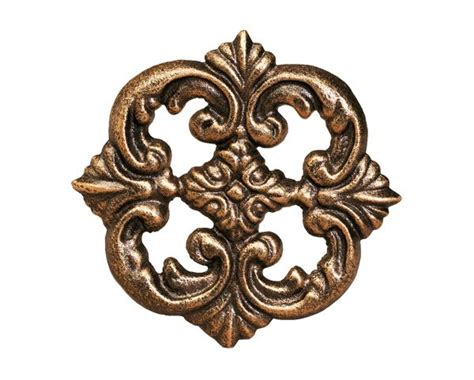 drapery medallions hardware the finial company steel rosette hold back or medallion