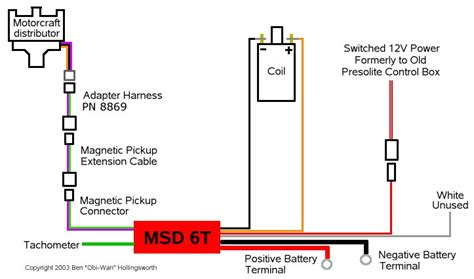 msd 6200 wiring diagram part products wiring diagram