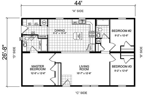 manufactured homes floor plan manufactured mobile homes floor plans bonnavilla