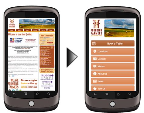 for mobile site free customizable mobile for restaurants